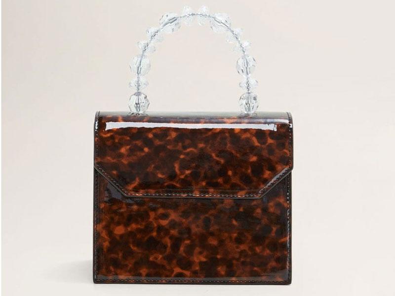 e4786d7ae7b7a حقيبة بنقشة صدفة السلحفاة، من مانجو، في مول الإمارات ومراكز سيتي سنتر للتسوق