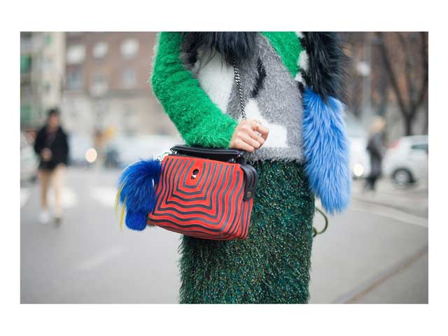 Its an Italian job with furry nice sweaters at Milan Fashion Week this season