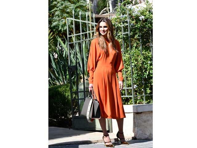 Queen Rania of Jordan is one of the most stylish royals